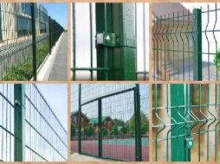 Забор из 3D сетки Евпатория цена от 1132 руб.